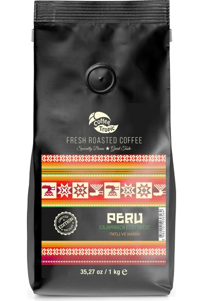 Coffeetropic Terra Single Origin Peru Cajamarca Ecoforest Limited Edt. 1 Kg