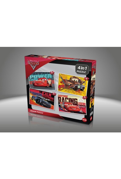 Zoe Puzzle 4in1 Cars Puzzle