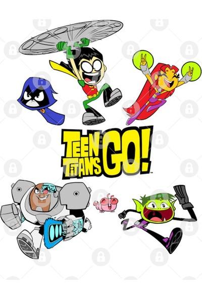 Fizello Teen Titans Go! Cast Kupa Bardak