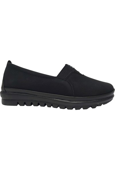 Hisaş 005 Nubuk Kadın Ayakkabı