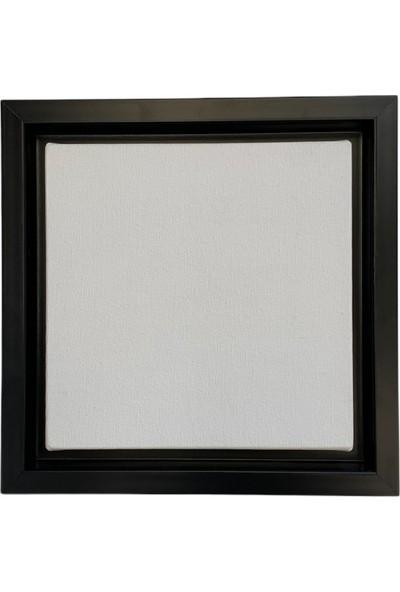 Özcan Gencer Art Tam Profesyonel Çerçeveli Tuval Mat Siyah 30X40 cm