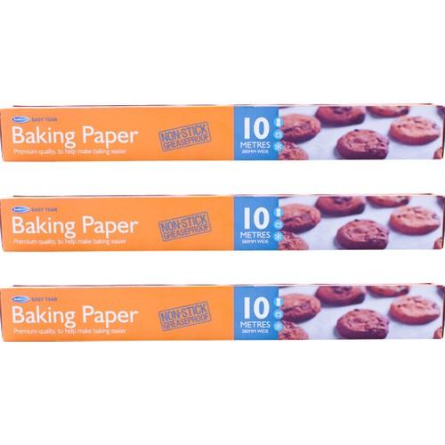 Kullan At Market 3lü Pişirme Kağıdı 38CM x 10 Metre