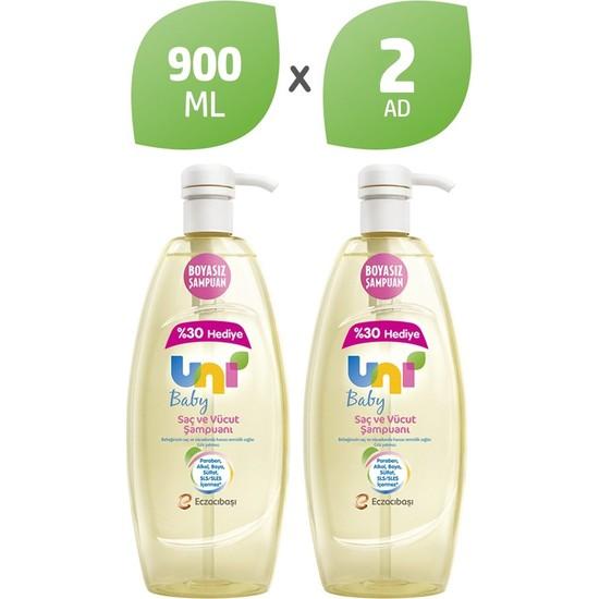 Uni Baby Şampuan 900 ml x2 Adet