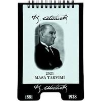 Istisna 2021 Atatürk Masa Takvim Spiralli