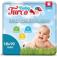 Baby Turco Islak Havlu 18 x 90'lı