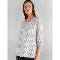 Faik Sönmez Kadın Çizgili Bluz 61160
