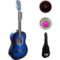 Manuel Raymond Jak Girişli Klasik Gitar - MREC275BLS + Kılıf + Pena + Yedek Tel