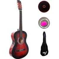 Manuel Raymond Jak Girişli Klasik Gitar - MREC275RB + Kılıf + Pena + Yedek Tel