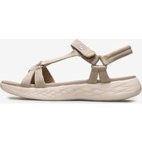 Skechers On-The-Go 600 - Brilliancy Kadın Natürel Sandalet 15316 Nat