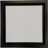 Özcan Gencer Art Tam Profesyonel Çerçeveli Tuval Mat Siyah 40 x 40 cm