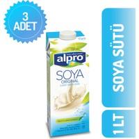 Alpro Soya Sütü 1 lt x 3'lü