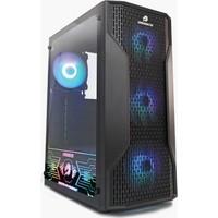 GameBooster GB-G3309B 550W 80+ ATX USB 3.0, Mesh, RGB Fan, Siyah Kasa
