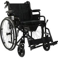 Golfi̇ G-120 Klozetli Manuel Tekerlekli Sandalye / Commode Manual Wheelchair