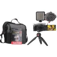Fujifilm X-T200 Gümüş + XC 15-45 mm Vlogger Hazır Kit