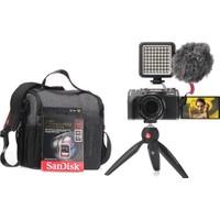 Fujifilm X-T200 Koyu Gümüş + XF 18-55 mm Vlogger Hazır Kit