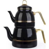 Acarlar Roma Çaydanlık Siyah