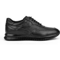 Ziya Erkek Deri Ayakkabı 103423 103 Siyah