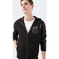 Mavi Erkek Fermuarlı Black Pro Sweatshirt 066638-900