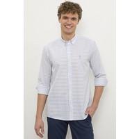 U.S. Polo Assn. Erkek Mavi Gömlek Uzunkol 50231307-VR036