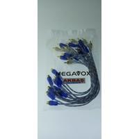 Megavox 10 Adet 1 Dişi 2 Erkek Anfi Y Kablosu