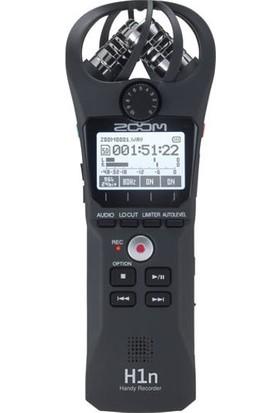 Zoom H1n Digital Handy Recorder (Siyah)