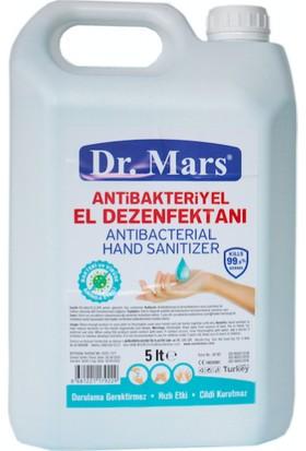 Dr. Mars 5 lt Aleo Veralı Antibakteriyel Alkollü El Dezenfektanı