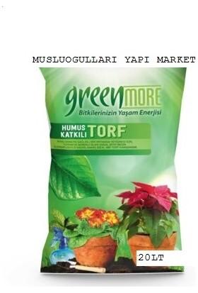 Greenmore Bitki Toprağı Çiçek Toprağı Torf Humus Katkılı 5 Lt