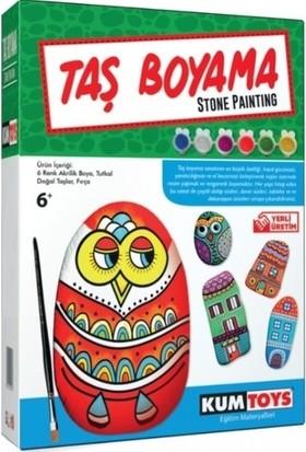 Redka Kumtoys Şeklini Keşfet+Taş Boyama+Kodlama+Renkli Tangram 4'lü Eğitici Set