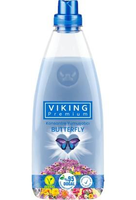 Viking Premium Konsantre Yumuşatıcı Butterfly 1200 ml x 6'lı