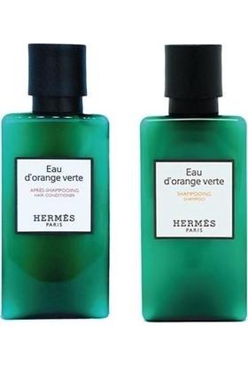 Hermes D'orange Verte 2'li Set - Şampuan 40 ml + Saç Kremi 40 ml