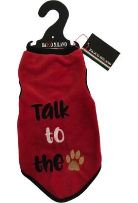 Bacco Milano Kedi Köpek Kıyafeti Polar-Talk To The