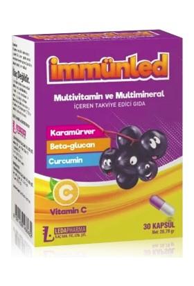 Ledapharma Immunled Multivit-C 30 Kapsül