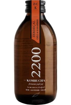 Kombucha Zerdeçallı Chili Karabiber 250 ml