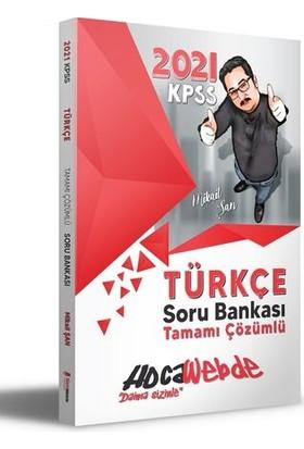 HocaWebde Yayınları 2021 KPSS Türkçe Soru Bankası - Mikail Şan