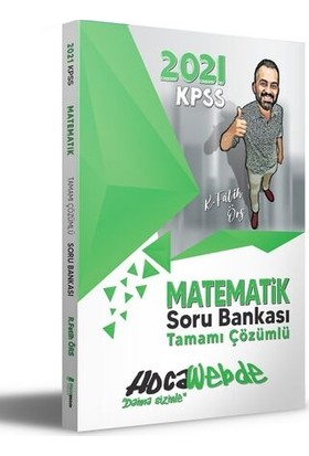 HocaWebde Yayınları 2021 KPSS Matematik Soru Bankası - Fatih Örs