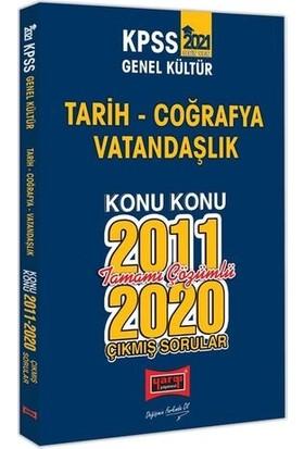 Yargı Yayınları 2021 KPSS Genel Kültür Konu Konu Tamamı Çözümlü Çıkmış Sorular