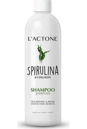 Lactone Spirulina & Collagen Şampuan