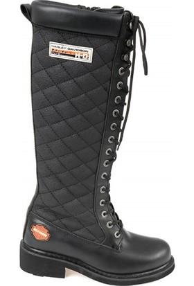 Harley Davidson Rem Black Deri Çizme