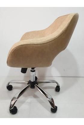 Herkese Mobilya 506 Bilgisayar Sandalyesi Çalışma Sandalyesi Ofis Sandalyesi Büro Sandalyesi Müdür Sandalye Koltuk