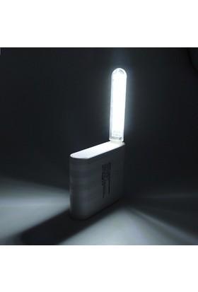 Serel Acil Durum Deprem Feneri USB 8 LED Lamba