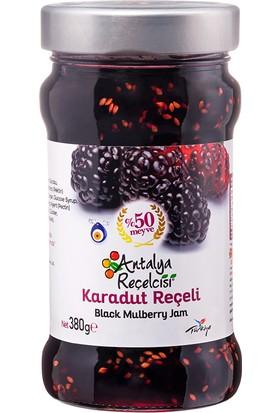 Antalya Reçelcisi Karadut Reçeli %50 Meyve Klasik Seri 380 Gr