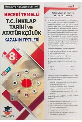 Zeka Küpü Yayınları Inkilap Tarihi ve Atatürkçülük Yaprak Test