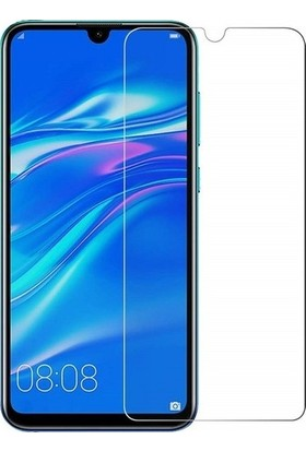 Telbor Huawei Y7 2019 Nano Cam Ekran Koruyucu Şeffaf Extra Darbe Emici