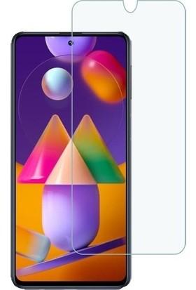 Telbor Samsung Galaxy M31S Nano Cam Ekran Koruyucu Şeffaf Extra Darbe Emici