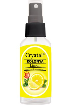 Cryatal Çanta Boy Limon Kolonyası 12 x 50 ml