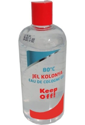 Mamazade Keep Off Jel Kolonya 250 ml 80 Derece