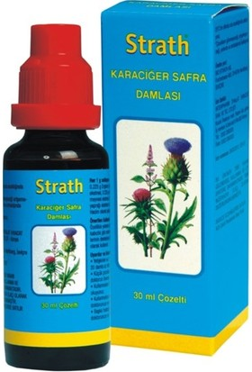 Strath Karaciğer Safra Damlası 30 ml