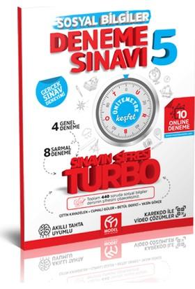 Model Yayınevi Turbo 5. Sınıf Sosyal Bilgiler Deneme