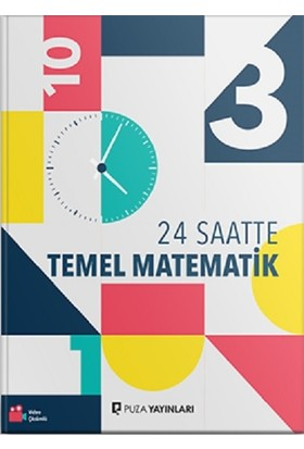 Puza Yayınları 24 Saatte Temel Matematik