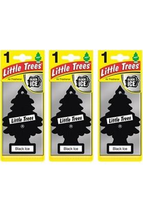 Car Freshner Little Trees Black Ice Oto Kokusu 3 Adet